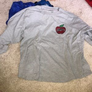 stingray allstars apple long sleeve jersey shirt